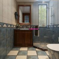 小<span style='color: #ff0000'>卫生间怎么装修</span> 山水装饰教您如何让小卫生间看起来更大
