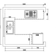 5.27㎡旧厨房翻新效果令人惊艳,打造温馨实用的现代简约新厨